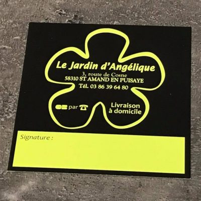Avis de passage Le Jardin D'Angélique