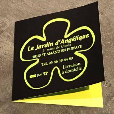 Dépliants Le Jardin D'Angélique