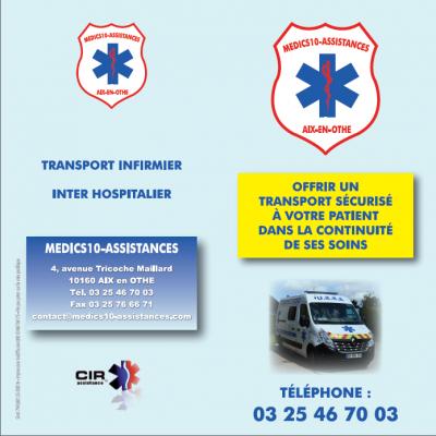 Dépliants Médics10-Assistances R